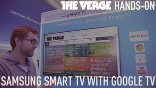 Samsung Smart TV with Google TV hands-on demo