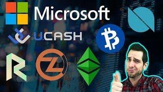 Ethereum Classic (ETC) Callisto (CLO) Airdrop | UCASH Pump! | Revain | ZCL BTCP | Microsoft