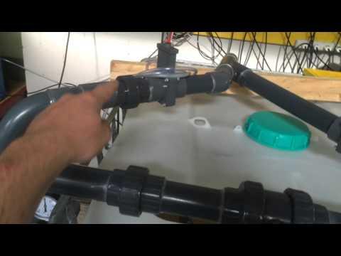 Bio filter, drum filter for aquaponics and aquaculture, Filter system