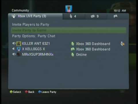 Xbox Live Party Chat Fight: Part 1