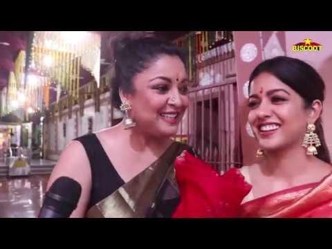 Tanushree Dutta With Sister Ishita Dutta Takes Blessing at KALI MANDIR | DIWALI Celebration 2018