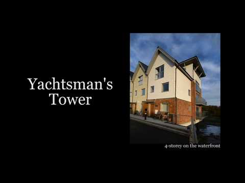 Yachtsman's Tower 5-star Holiday Home Island Harbour, Isle of Wight, 4 beds
