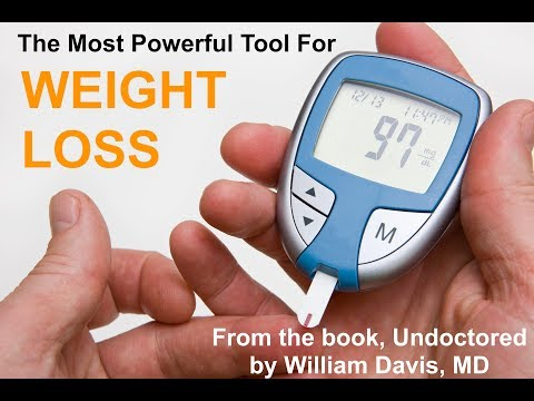 Dr. William Davis, The Most Powerful Tool For Weight Loss