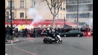 Paris Ultras @ PSG 4-0 Montpellier 27/1/2018