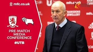 Derby County Media Conference