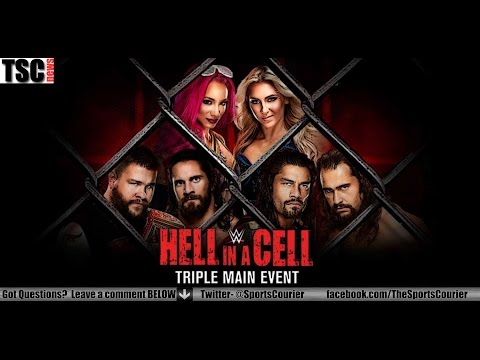 WWE Hell in a Cell 2016 Recap: Triple Main Event!