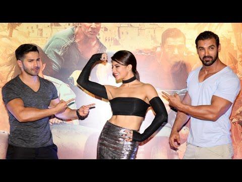 UNCUT Dishoom Movie Trailer Launch   John Abraham, Varun Dhawan, Jacqueline Fernandez