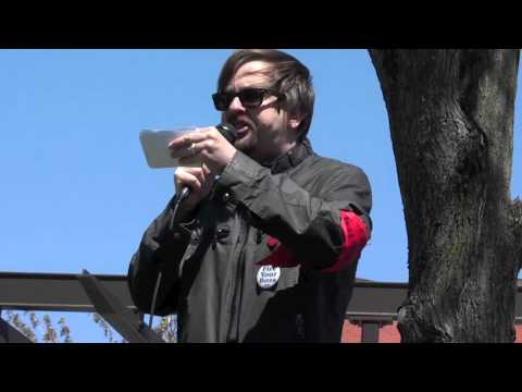 Boston May Day 2011: Geoff Carens of the IWW