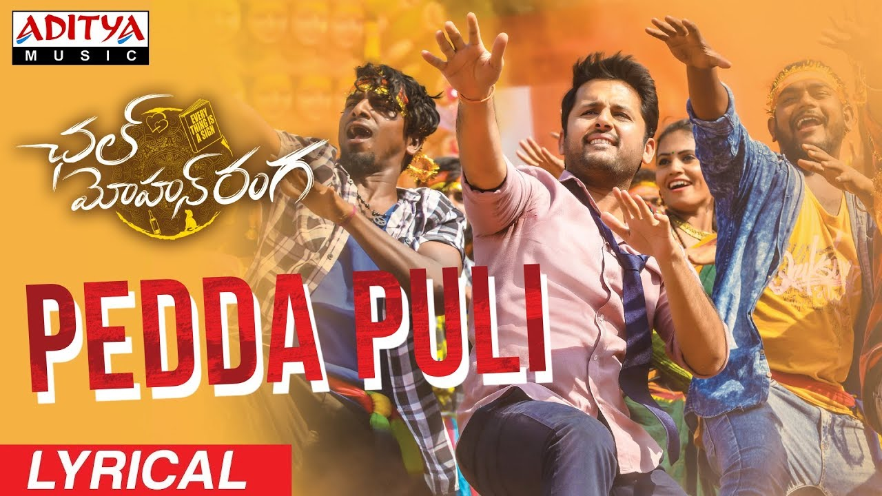 Nithiin: Chal Mohan Ranga's third single 'Pedda Puli' is out