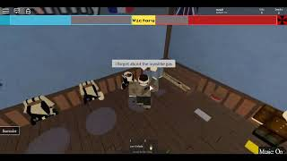 repeatedly diying in a WW1 roblox game