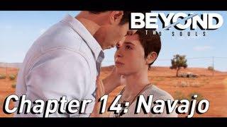 beyond Two Souls Walkthrough Part 15: Navajo (2/2) Kiss Jay