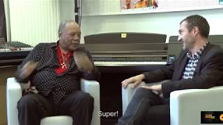 Message from Quincy Jones to Toots Thielemans by Stéphane Mercier (French subtitles)