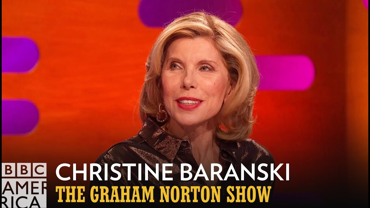 Christine Baranski's Name Is Immortalized By Michael Sheen's Privates - The Graham Norton Show