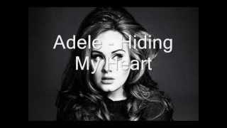 Adele → Hiding My Heart. KARAOKE!!!