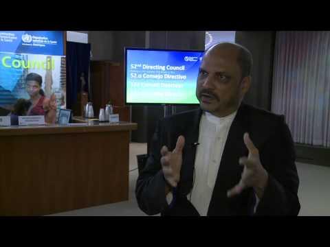 Dr. Bheri Ramsaran, Minister of Health of Guyana