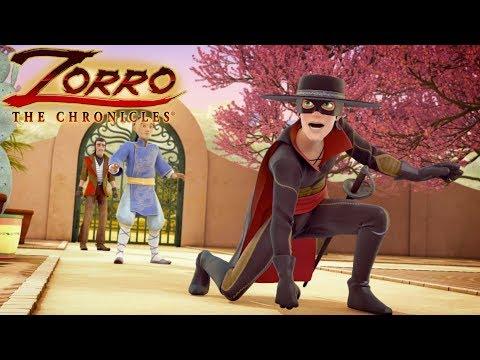 Zorro La Leggenda   Episodio 20   CACCIA AL TESORO   Cartoni Di Supereroi