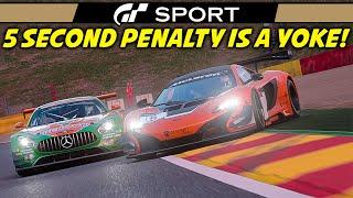 GT Sport Manufacturer Series   MERCEDES AMG GT3 @ Spa Francorchamps