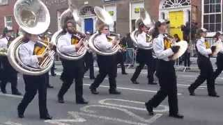 Limerick Marching Band Parade 2015 March 15