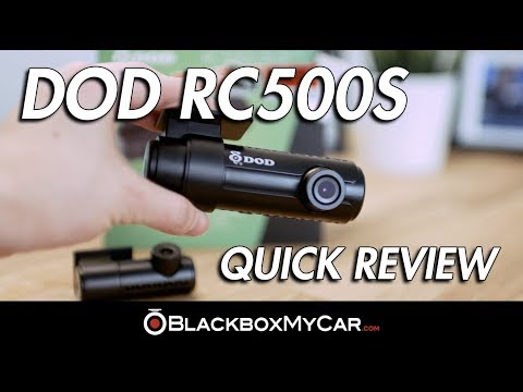 DOD RC500S Quick Review - BlackboxMyCar