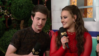 Katherine Langford & Dylan Minnette on '13 Reasons Why' Season 2