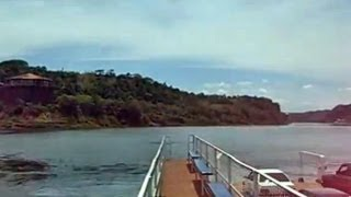 Triple Frontier, Paraguay-Argentina-Brazil, Paraná River, Puerto Iguazú, South America