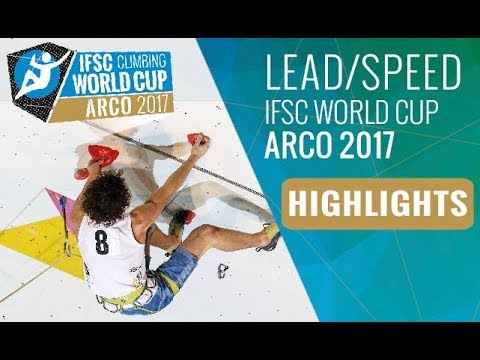IFSC Climbing World Cup Arco 2017 - Finals Highlights