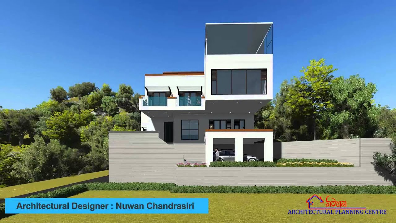 Thilina sammani house design youtube for Home architecture you tube