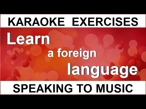How to learn Russian speaking to music? With the help of KARAOKE!