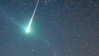 Meteorite Verde Precipita in Italia