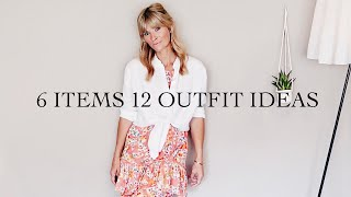 6 ITEMS 12 OUTFIT IDEAS | Fashion and Style Edit