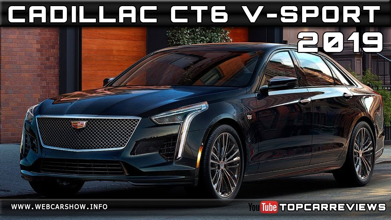 2019 Cadillac Ct6 V Sport Review Rendered Price Specs Release Date