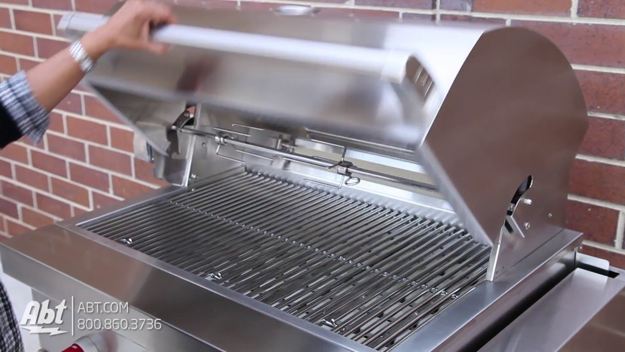 Wolf Stainless Steel Outdoor Built In Natural Gas Grill Og42 Overview Youtube