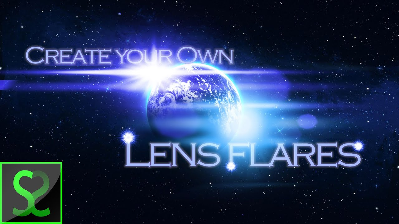how to make lens flare photoshop