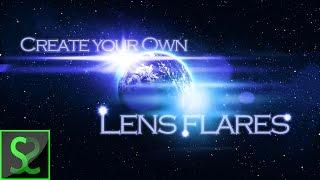 Wie erstellen Sie eigene lens-flare | Photoshop tutorial