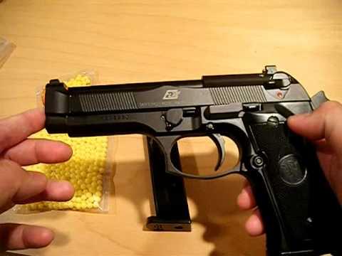 KJWorks M9 Airsoft Pistol Demo For Ebay Auction