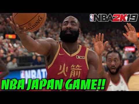 【NBA 2K19】NBAジャパンゲーム開催決定!白熱した神展開になったw まさかのあいつが大活躍! thumbnail