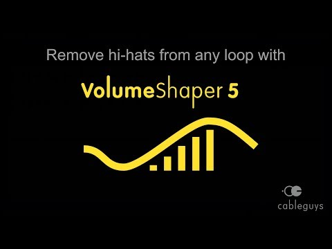 Remove the hi-hat from any loop with VolumeShaper 5