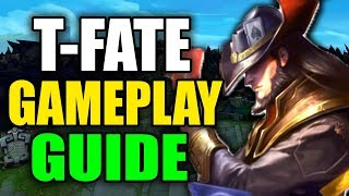 SEASON 10 TWISTED FATE GAMEPLAY GUIDE - (Best Build, Runes, Playstyle) - League of Legends