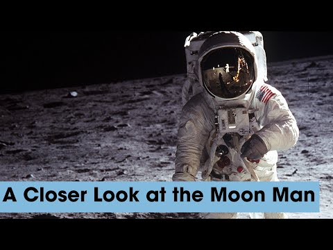 """Expert Annotation: An In-Depth Look at the Iconic Buzz Aldrin """"Moon Man"""" Photo"""