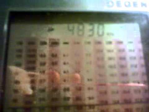 4830 khz Mongolian Radio 2 10 kW from Altay (Mongolia)