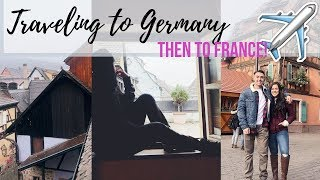 TRAVELING TO GERMANY    OUR FIRST TIME OUT OF THE COUNTRY