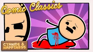 Help! I'm Bleeding Out! | Cyanide & Happiness Comic Classics