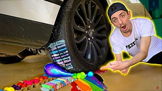Download CRUSHING Squishy & Crunchy Things with my CAR! **oddly satisfying** Mp3 and Videos