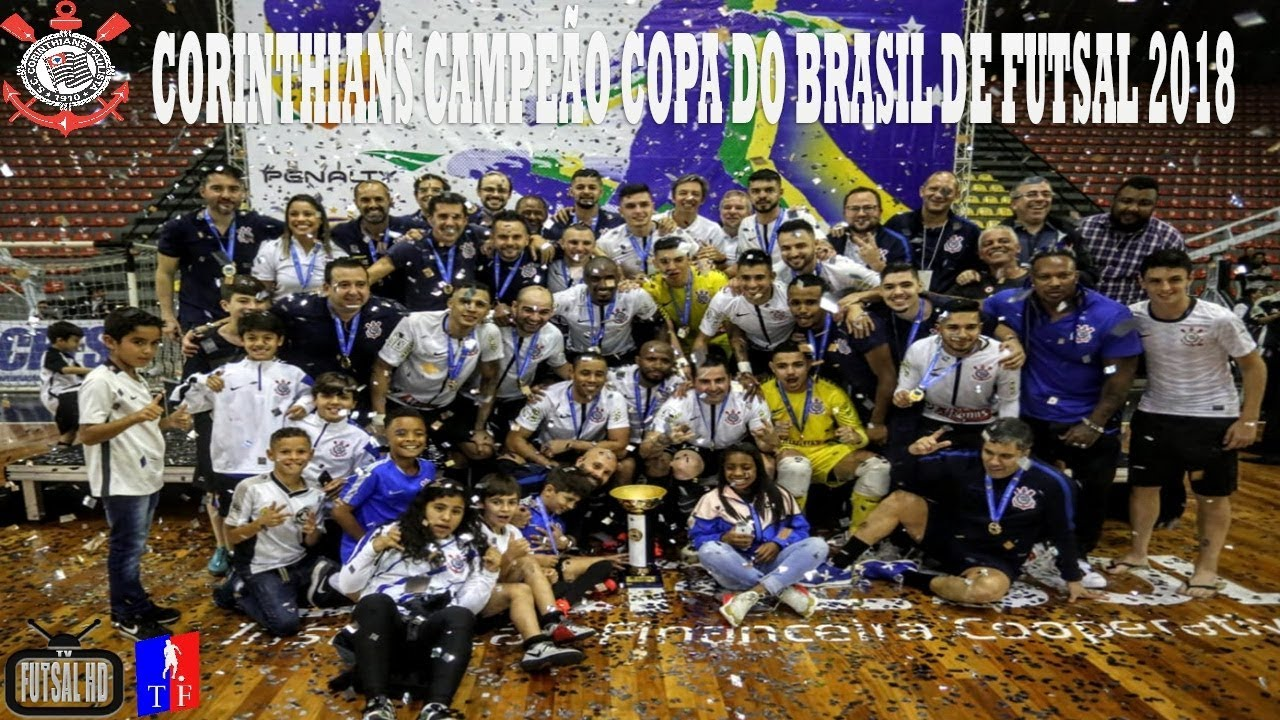 Compacto Corinthians 3x0 Joinville - FINAL 2º Jogo Copa do Brasil de Futsal  2018 (11 10 2018) fdc7f7b8eede3