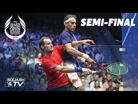 Squash: Allam British Open 2018 - Men's SF Roundup