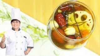 Cách nấu SÂM BỔ LƯỢNG bổ dưỡng, giải nhiệt tại nhà/Ching Bo Leung Recipe