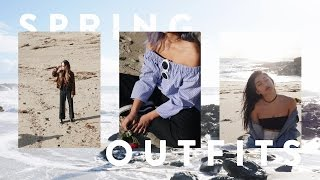 """SPRING OUTFITS: """"A California Winter"""" ft. VAGABOND YOUTH"""