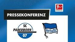 Pressekonferenz vor dem Spiel gegen Hertha BSC