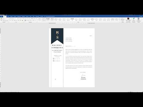 How To Merge Multiple Word Documents Into One? Cover Letter And Teacher Resume Template