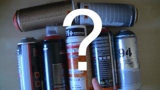 Graffiti sur mur : peinture en spray, quelles bombes choisir pour le graff ? [HD]